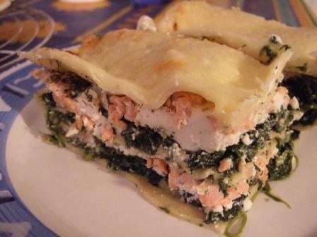 Lasagnes Saumon Epinards Ricotta Laboratoire De Cuisine